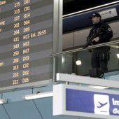 Sicherheitsvorkehrungen an Flughäfen erhöht