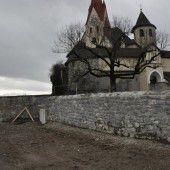 Pfarrgarten der Basilika wird wieder erblühen