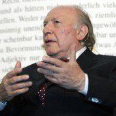 Großer Mahner und Stimme der Opfer des Holocaust