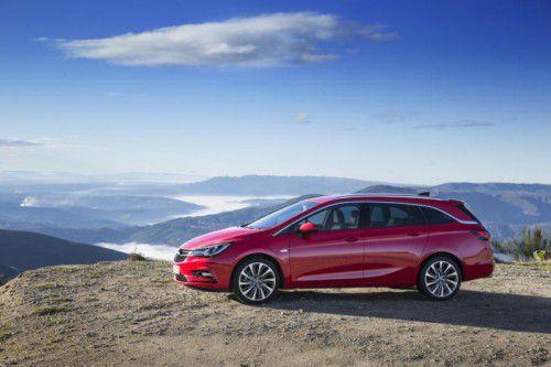 Erste VN-Fahreindrücke: Der Opel Astra Sports Tourer ist dank deutlicher Gewichtsreduzierung agiler und sparsamer als der Vorgänger.