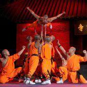 Shaolin-Mönche in Bregenz