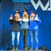 Wieder Gold für Nina Ortlieb bei der Junioren-Ski-WM