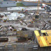 25-Millionen-Projekt: Die Bauarbeiten bei Loacker Recycling schreiten voran