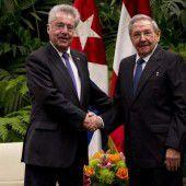 Fischer besucht Castro in Havanna