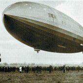 Jungfernflug der Hindenburg am 4. März 1936