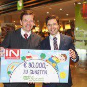 90.000 Euro für SOS-Kinderdorf