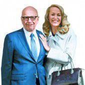 Hochzeit in Blau: Hall und Murdoch sind verheiratet