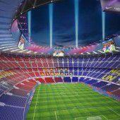 Barcelona erneuert das Camp Nou
