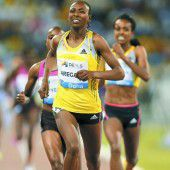 Gold-Läuferin Aregawi positiv