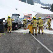 Unfall mit vier Autos