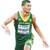 Van Niekerk sorgte für Sprint-Allzeitbestmarke