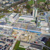 Zügiger Ausbau am LKH Feldkirch