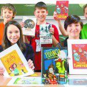 Hunderte Schüler feiern ein großes Lesefest