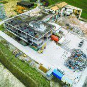 10.000 Kubikmeter Bauschutt und ein neues Wohnquartier
