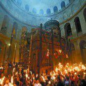 Das Phänomen des heiligen Feuers