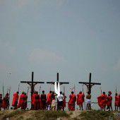 Grausiges Osterritual auf den Philippinen