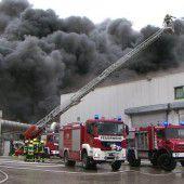 Großbrand auf deutschem Geflügelhof