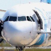 Flugzeug entführt