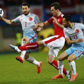 1:2-Niederlage Österreichs im EM-Test gegen die Türkei