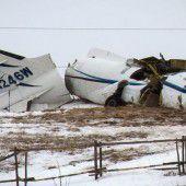 Flugzeugabsturz mit sieben Toten