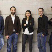 Junge Unternehmer mit großen Ideen