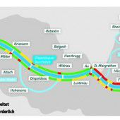 Hochwassergefahr am Rhein nun entschärft