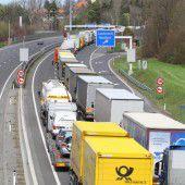 Stauchaos in Vorarlberg nach Unfall bei Lindau