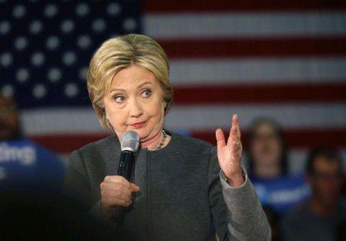 Hillary Clinton gilt als Favoritin bei den Demokraten.
