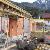 Nüziders: Neue Wohnanlage im Ortszentrum