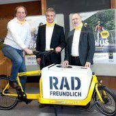 Startschuss für den Fahrradwettbewerb