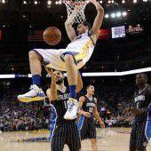 46. Heimsieg en suite für Golden State Warriors
