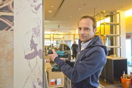 Marcel Lerch mischt die Lustenauer Gastronomieszene mit zwei neuen Lokalen im Zentrum auf.