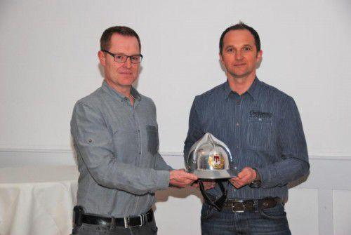 Markus Schupp übergab das Amt an Hubert Schreilechner (r.).