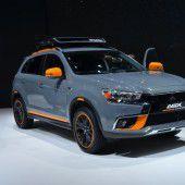 Mitsubishi beweist SUV-Kompetenz