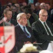 ÖFB-Ehrennadel für Funktionär Alfons Lins