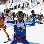 Bei Tour de France der Skibergsteiger Elfte
