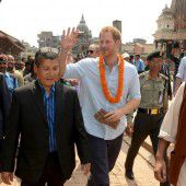 Prinz Harry zu Gast in Nepal