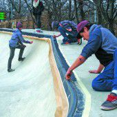 Jugend bringt Skatepark auf Vordermann