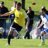 Fußball, Vorarlbergs Ligen im Überblick – Vorarlbergliga bis 5. Landesklasse (14. Spieltag)