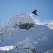 Snowboarder Feurstein winkt World-Tour-Ticket