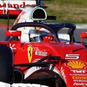Vettel mit der Bestzeit am letzten Testtag