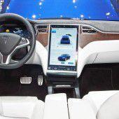 Erstes Probesitzen im Elektro-SUV