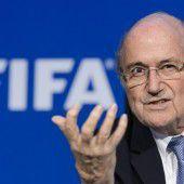 Blatter muss an seinem Geburtstag zittern