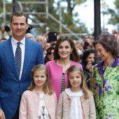 Royals verbrachten Osterfest auf Mallorca