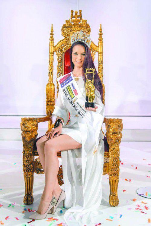 2015 wurde Annika Grill (OÖ) zur Miss Austria gekürt.