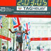 Eliud Kipchoge verpasste den Weltrekord