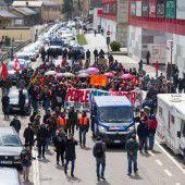 Zwischenfälle bei Protest gegen Brenner-Pläne
