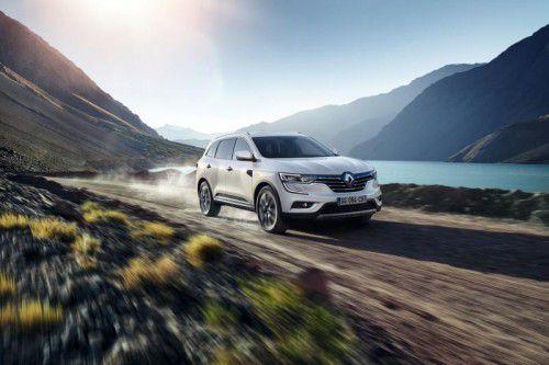 Anfang 2017 bringt Renault den neuen Koleos nach Europa. Das Mittelklasse-SUV feierte in Peking Premiere.