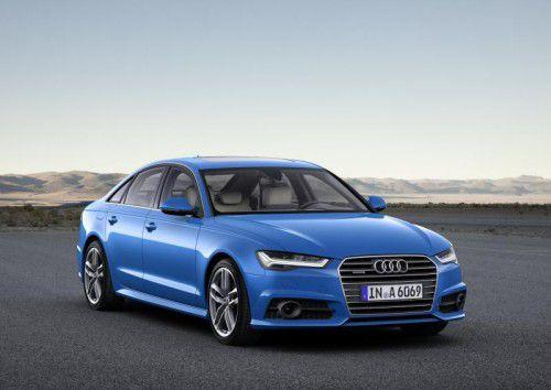 Mit dem A6 führt Audi auch die Mittel-/Oberklasse an.