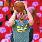 Stephen Curry fällt für zwei Wochen aus
